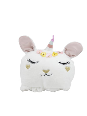 Bunny Hooded Blanket - Goldie Bunny