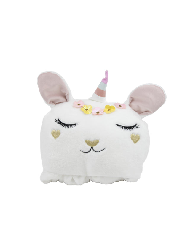 Goldie Bunnicorn Hooded Blanket - Under1Sky