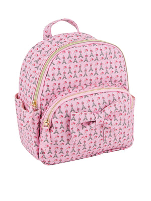 Girls Bow Backpack - Paris Garden Grove