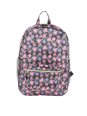 Nylon Backpack w/ Side Pockets - Under1Sky