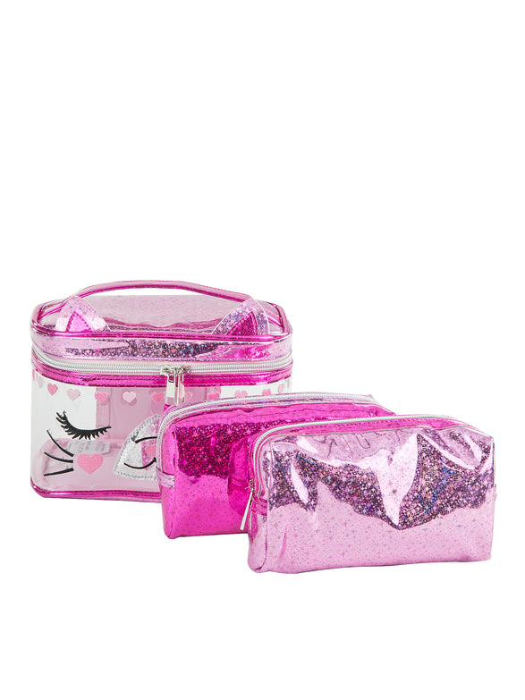 Mia Kitty 3 Piece Travel Set - Under1Sky