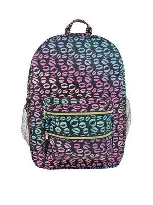 Backpack - Double Zipper w/ Side Pockets - Under1Sky