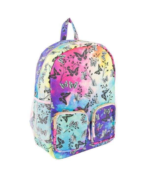 Backpack - Double Pouch w/ Side Pockets - Under1Sky