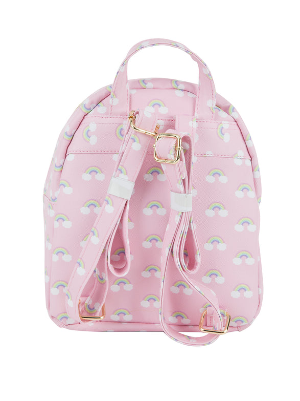 Backpack - Soft Pattern Button Bag - Under1Sky