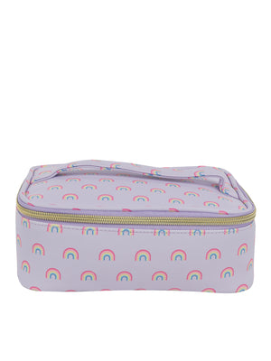 Lilac Rainbow 4 Piece Travel Case - Under1Sky