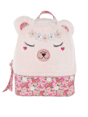 Girls Bear Backpack - Pippa Bear