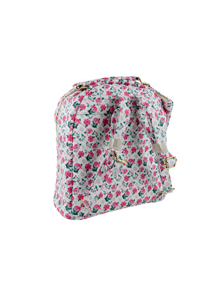 "The ""Formal Floral"" Backpack"