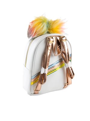 Isadora White Unicorn Backpack - Under1Sky