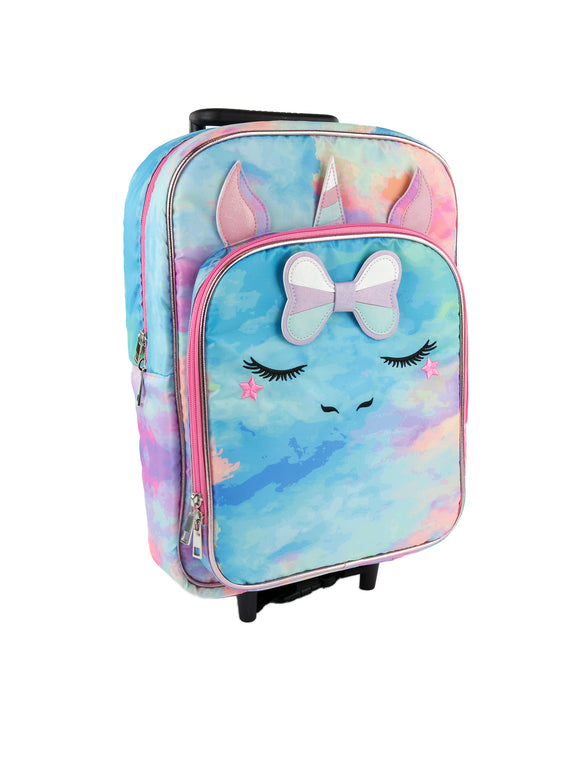 Klara Unicorn Rolling Backpack - Under1Sky