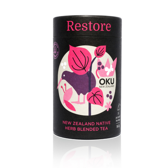 Oku Kawakawa Herbal Tea - Restore