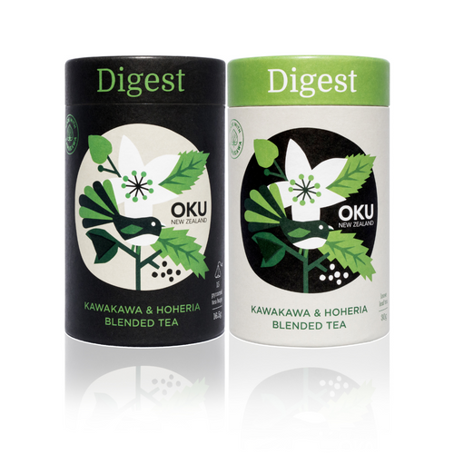 Oku Kawakawa Herbal Tea - Digest
