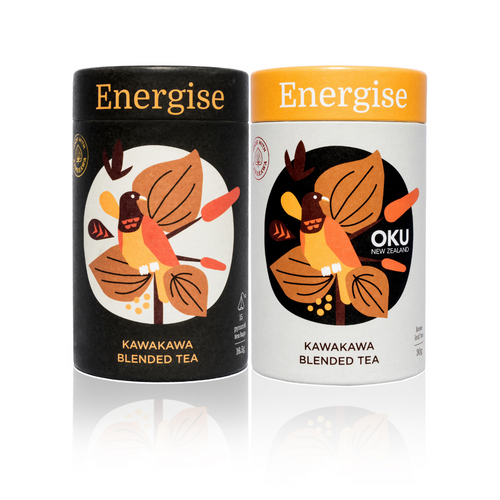 Oku Kawakawa Herbal Tea - Energise