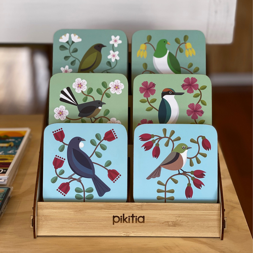 NZ Birds Coasters Set