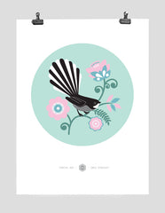 Fantail Dot  - Mint (Open Edition)