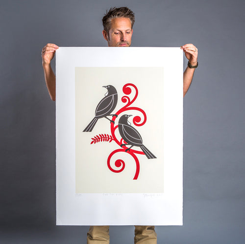 Two Tui Screen Print