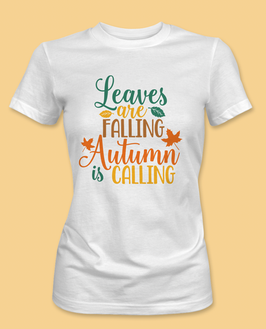 Leaves Are Falling T-Shirt