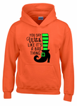 You Say Witch Youth Hooded Sweatshirt