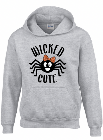 Wicked Cute Youth Hooded Sweatshirt