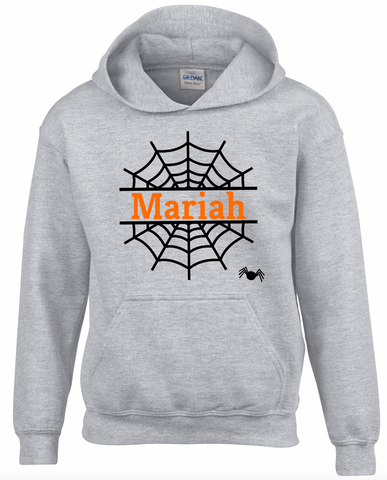 Custom Web Youth Hooded Sweatshirt