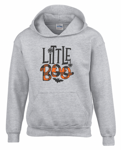 Little Boo Youth Hooded Sweatshirt