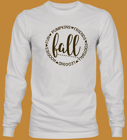 Fall Youth Long Sleeve T-Shirt