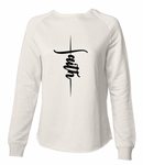 Vertical Faith - Bone Sweatshirt