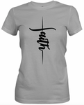 Vertical Faith Grey T-Shirt