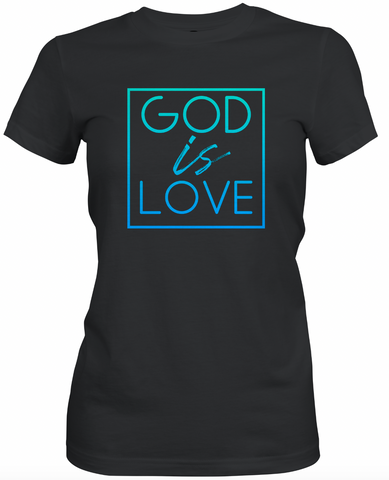 God is Love -Ombre T-Shirt