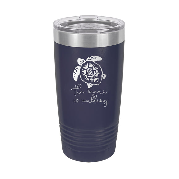 Ocean Turtle Tumbler- 20oz Insulated