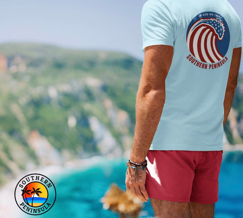 Patriotic Wave T-Shirt