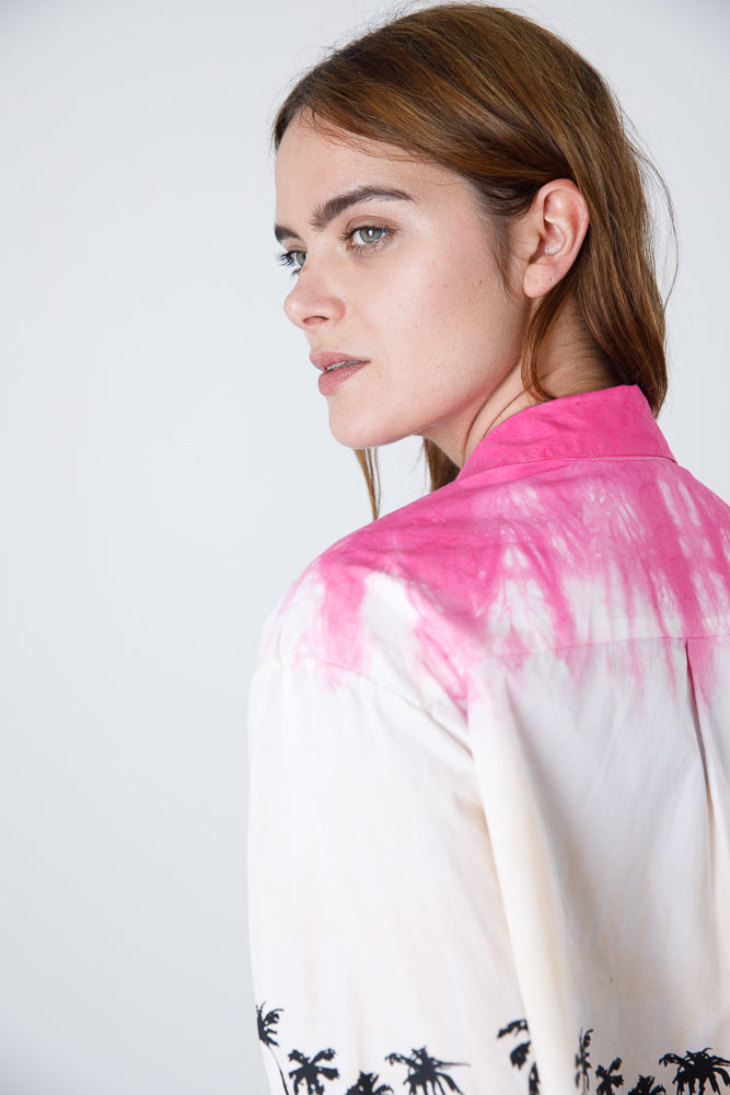 Ombre Palm Shirt