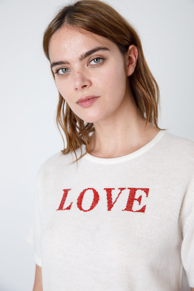 Love Yo Self Cashmere Tee