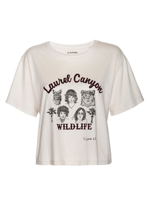 Laurel Canyon Wildlife Tee