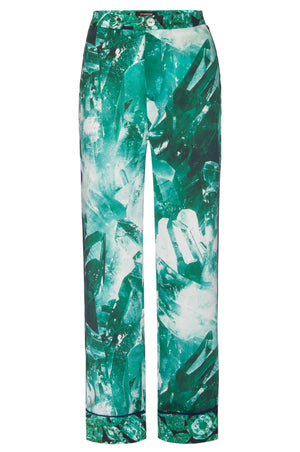Staycation Pant - Emerald Quartz