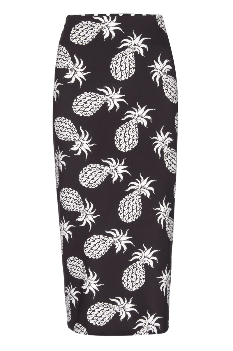 Two Timer Skirt - Kusama Dots and Pineapple Respite