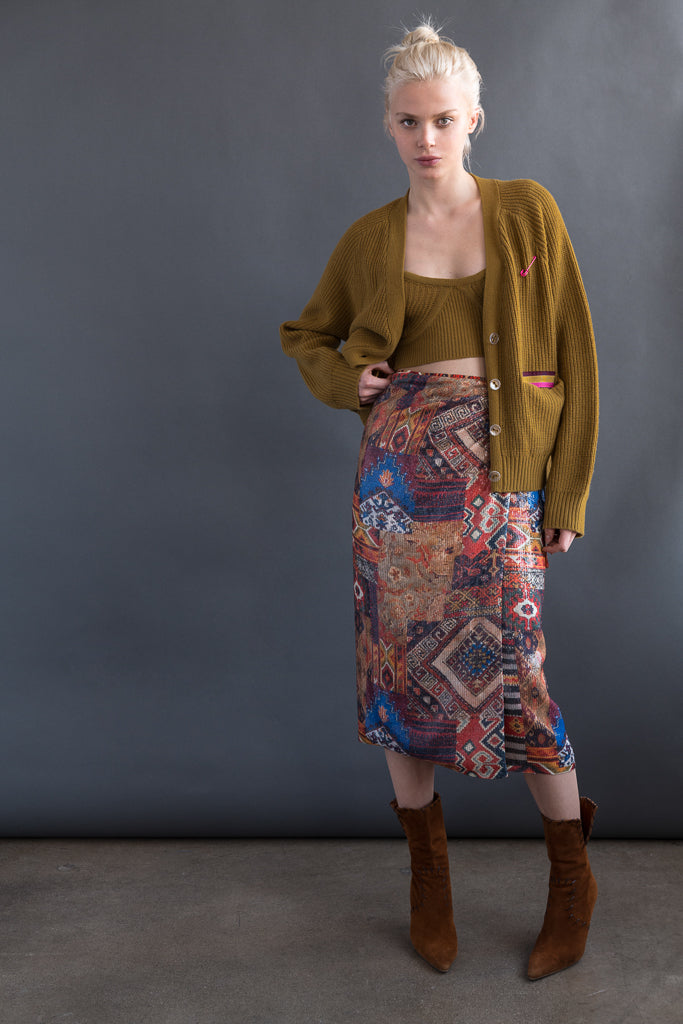 Stevie Wrap Skirt