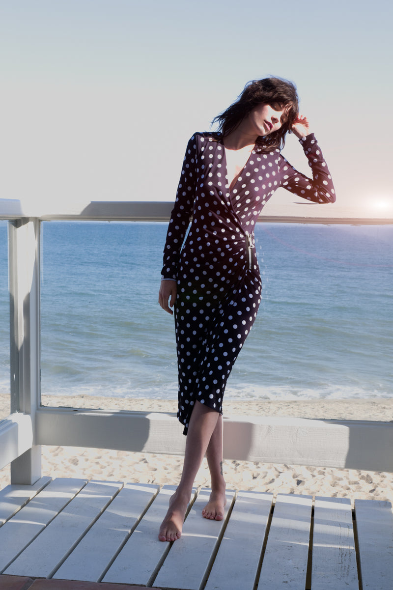 Happy Hour Dress - Kusama Dots