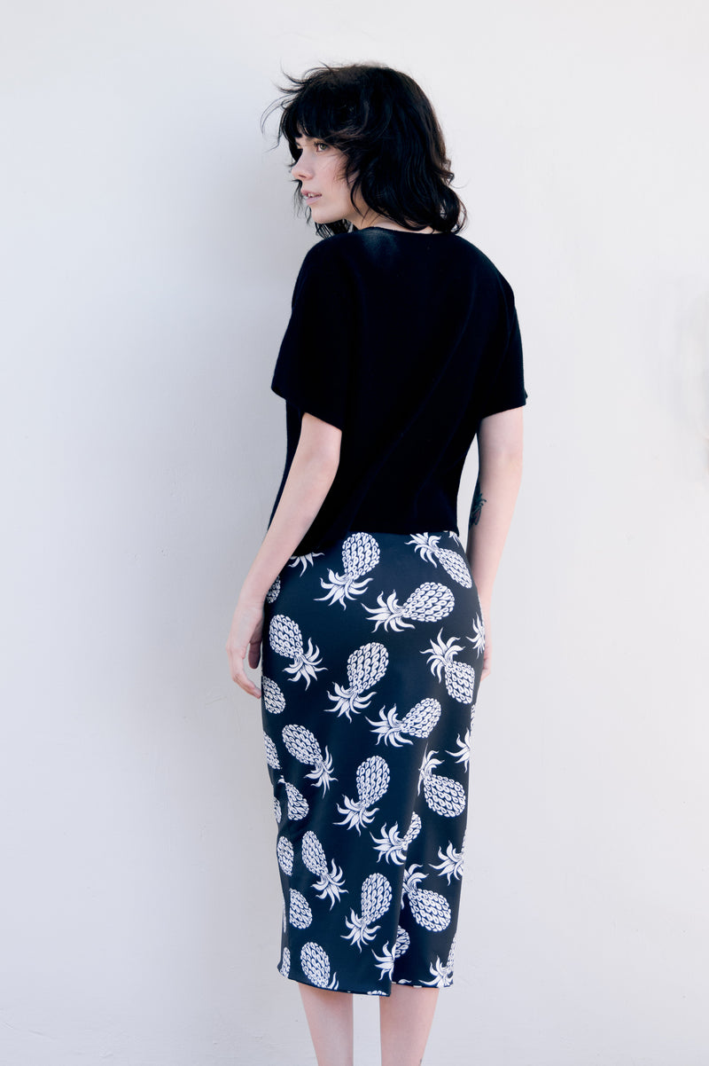 Two Timer Skirt - Pineapple Respite and Kusama Dots