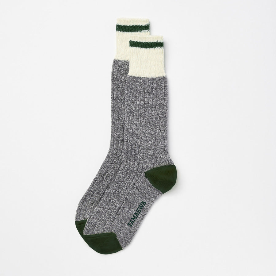 Womens Tamakwa/Roots Cabin Sock – 2 Pack