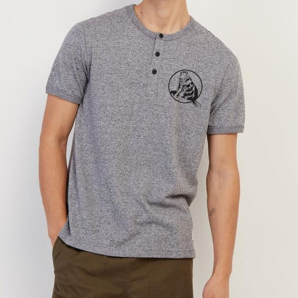 Mens Perfect Pepper Henley