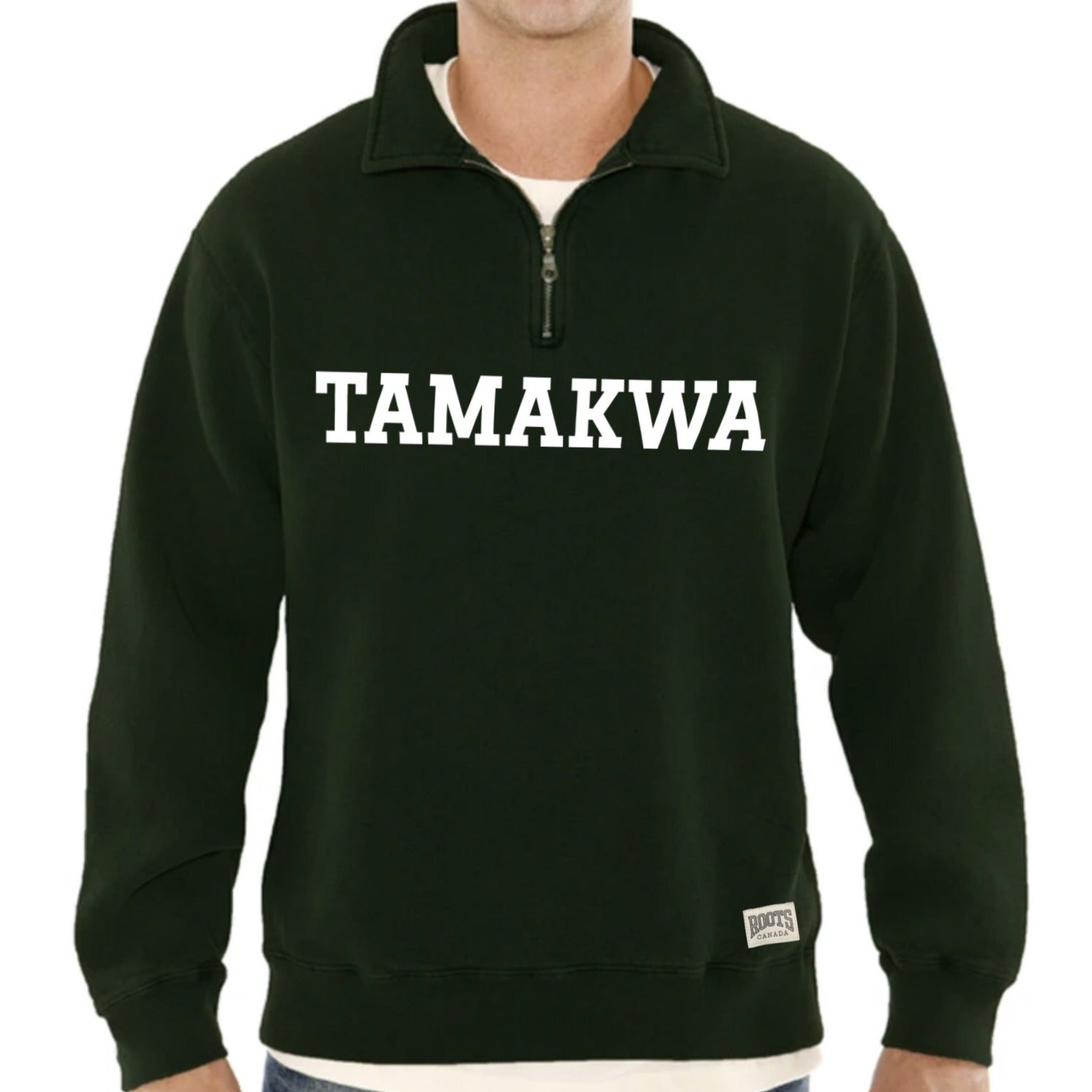 Quarter Zip Tamakwa Polo