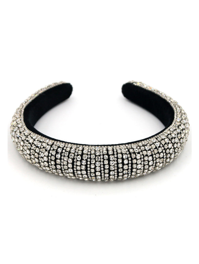 SILVER JEWEL HEADBAND