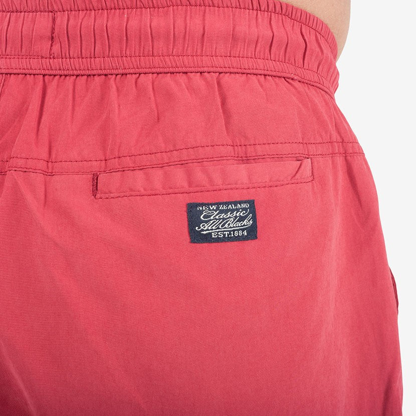 Short de bain Classic All Blacks – Rouge