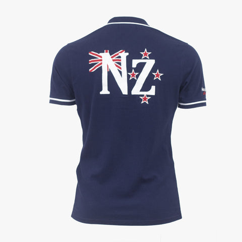 Polo New Zealand - Bleu Marine