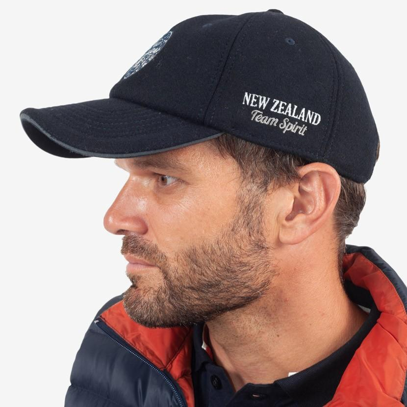 Casquette New Zealand - Bleu Marine - Classic All Blacks