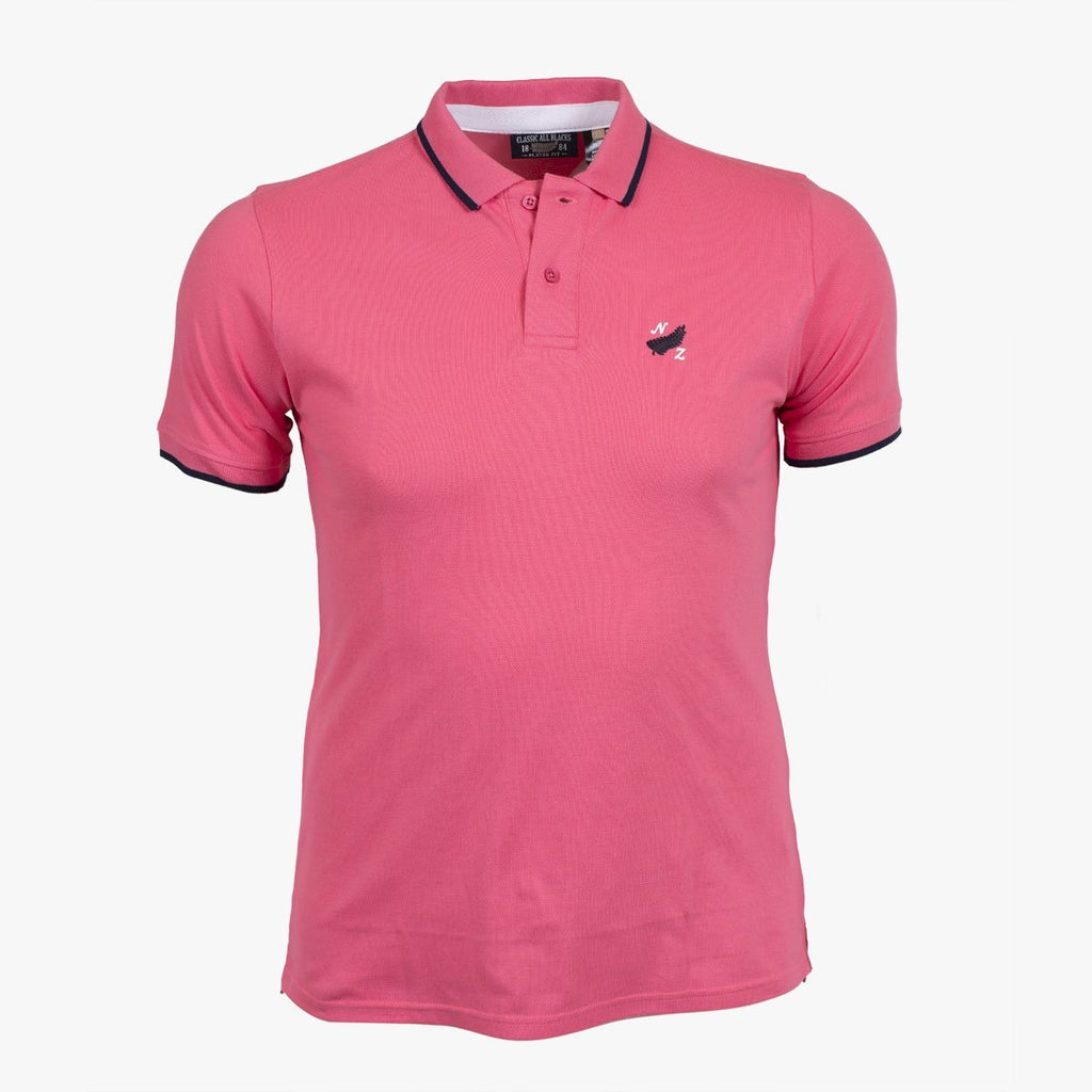 Polo Basic Coton Piqué - Rose - Classic All Blacks