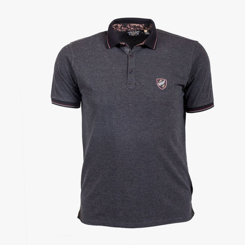 Polo City Gris Chiné - Classic All Blacks