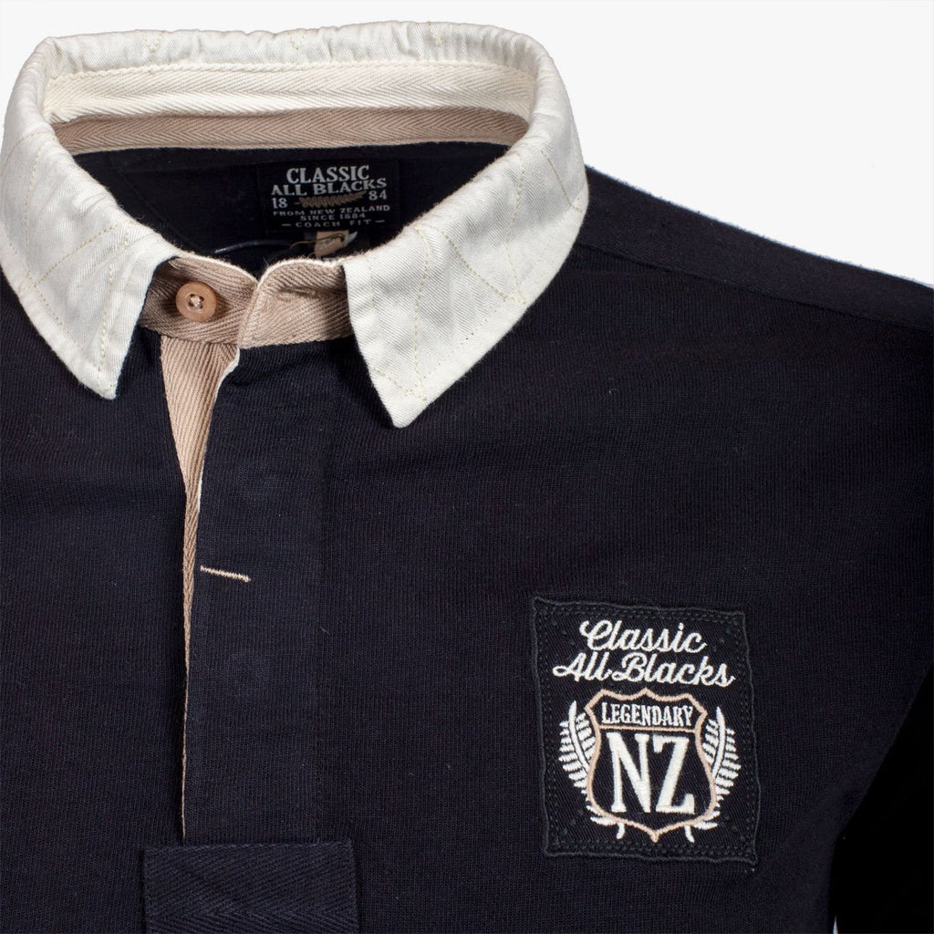 Polo City Manches Longues - Classic All Blacks