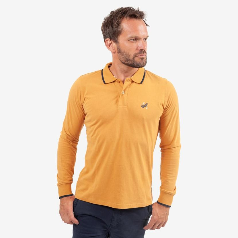 Polo Manches Longues Classic All Blacks - Jaune - Classic All Blacks