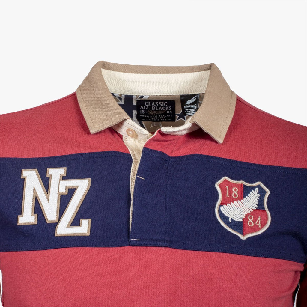 Polo Rugby Légende Numéro 9 - Classic All Blacks